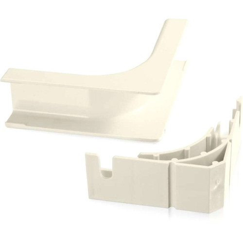 C2G Wiremold Uniduct 2800 Bend Radius Compliant Internal Elbow - Ivory