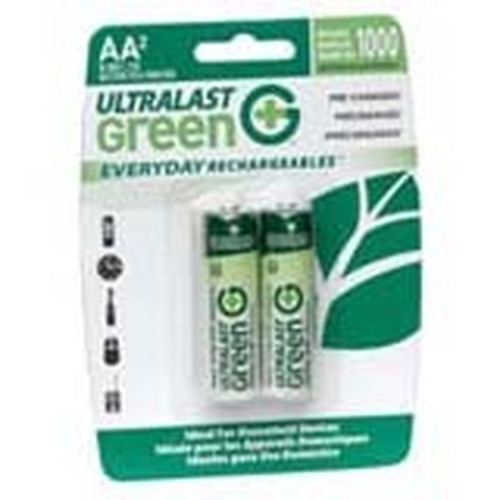 NABC Everyday Rechargeables ULGED2AA General Purpose Battery