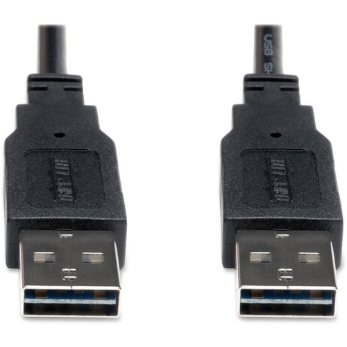 Tripp Lite 6ft USB 2.0 High Speed Reversible Connector Cable Universal M/M