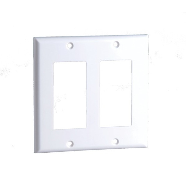 2-Gang Decor Wall Plate