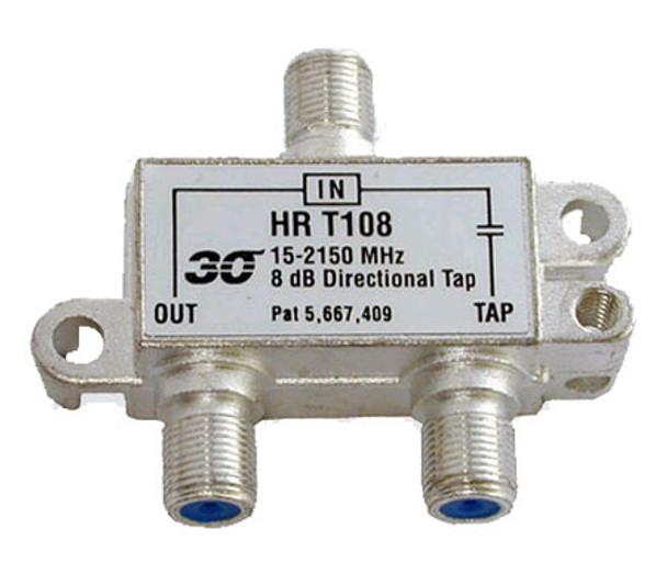 Sonora HRT108 High Performance 8 dB Tap 1-Port, 2-2400 MHz