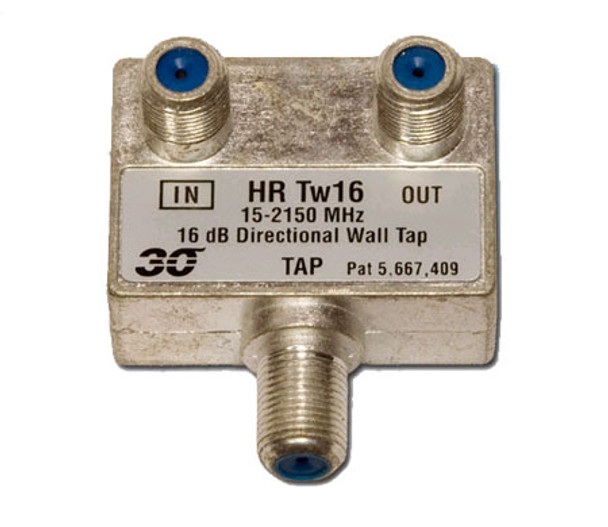 Sonora HRTw116 High Performance 16 dB Wall Tap 1-Port, 2-2400 MHz