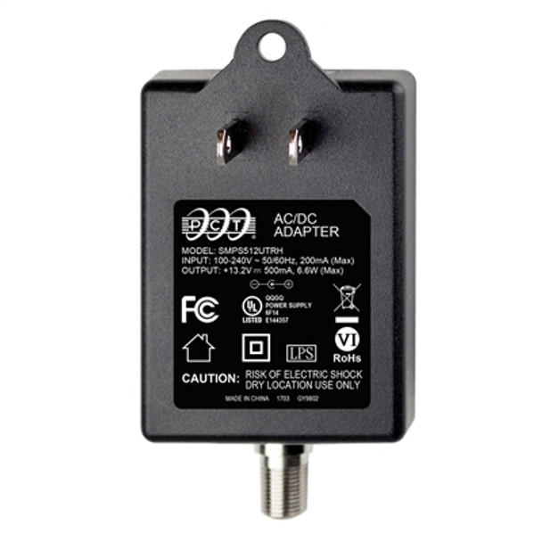 PCT SMPS512UTRH Replacement Power Supply for PCT and Channel Master Drop Amplifiers