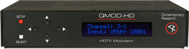 Contemporary Research QMOD-HD HDTV HD Encoder / QAM Modulator