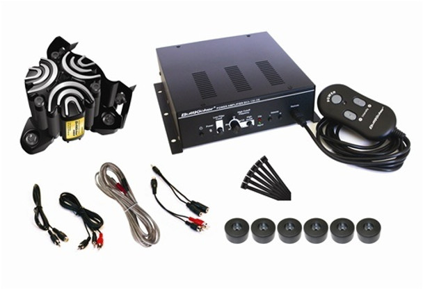 Buttkicker BK-SK Simulation Kit for Sim Racing and Flight Simulation