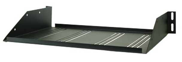 Perfect Vision Heavy Duty Vented Rack Shelf  - Black (PVVENTSHELF)