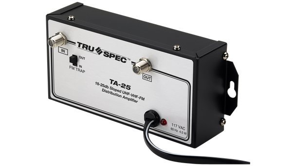 TA-25 Pico Macom Tru Spec UHF-VHF-FM 25dB Distribution Amplifier