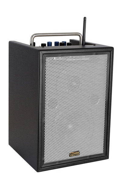 Sunburst Gear M6BR8 6 Channel Mixer/Monitor Portable All‐in‐One Rechargeable Bluetooth PA Speaker System - front side view