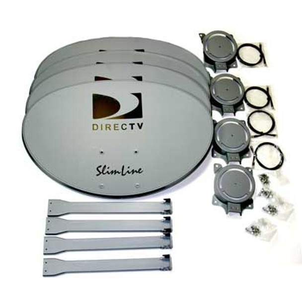 DIRECTV SLREF-4PK Slimline Reflector Kit (4 Pack) - Free Shipping!