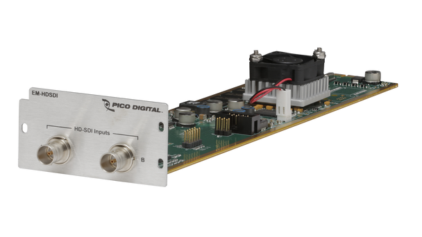 EM-HDSDI Pico Digital MPEG2 or H.264 Dual HD SDI Encoder Module For PD1000