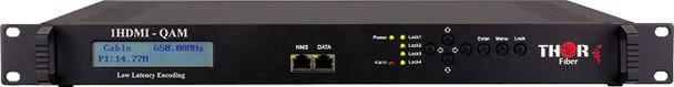 Thor Fiber H-1HDMI-QAM-IPLL 1-Channel HDMI to QAM Low Latency Encoder Modulator IPTV Streaming - front panel