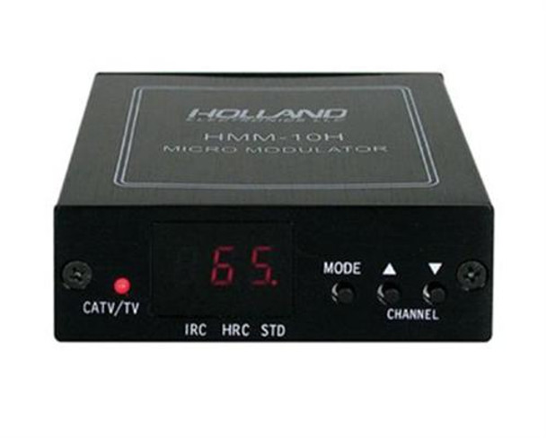 Holland Electronics HMM-10H Agile UHF and CATV Mini Modulator with LED Display