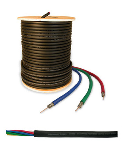 Holland RGB 3 Conductor Precision Mini Coax Cable - 250'