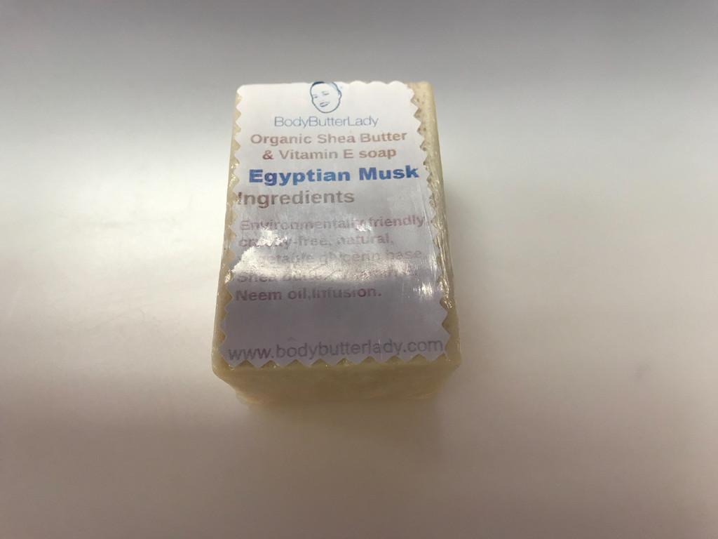 Egyptian Musk Shea butter soap