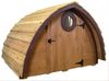 """A functional window on both the front and back walls to help you maintain healthy temperature and humidity levels in your coop. The window opening is covered in 1/2"""" galvanized steel hardware cloth to keep unwanted visitors out."""