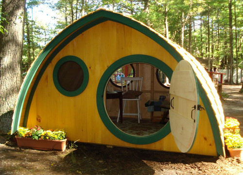 Big Merry Hobbit Hole Clubhouse Playhouse