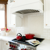 Classic White Kitchen Makeover: Before & After