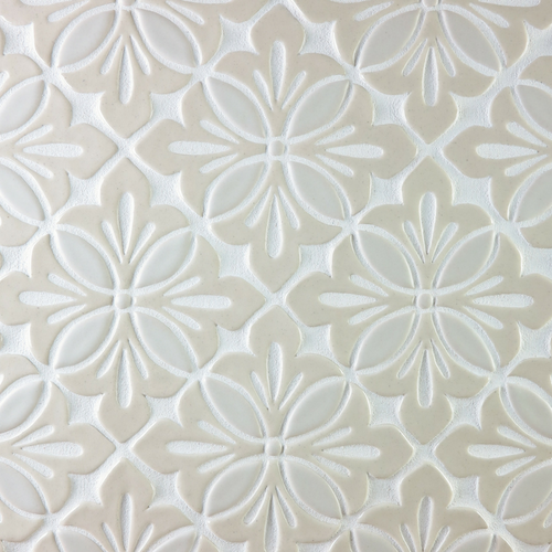 Two-Color Cobham Handmade Tile Backsplash