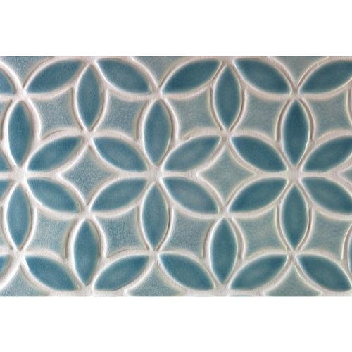 Bloom handmade tile border