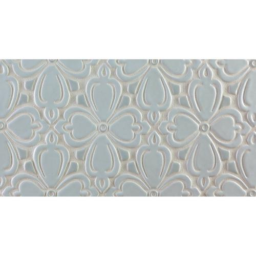Brocade handmade tile border
