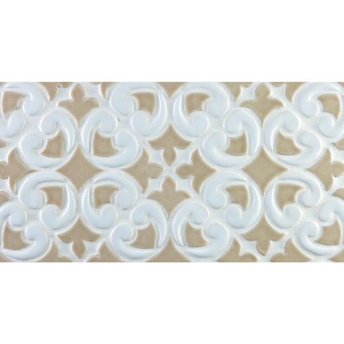 Hiser handmade tile border