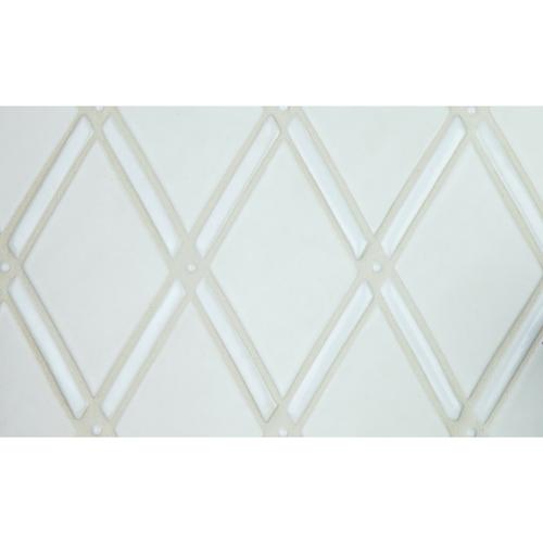 Gate handmade tile border
