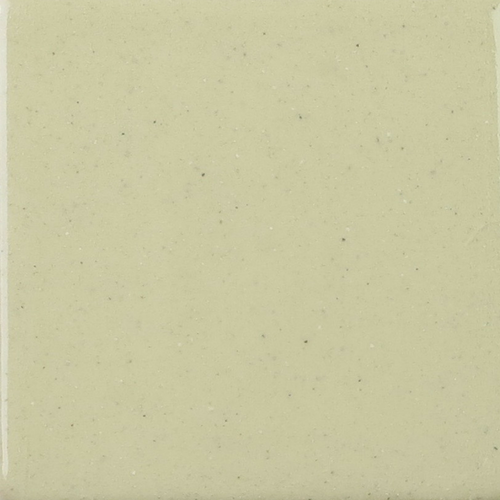Cream Glaze on Handmade Tile