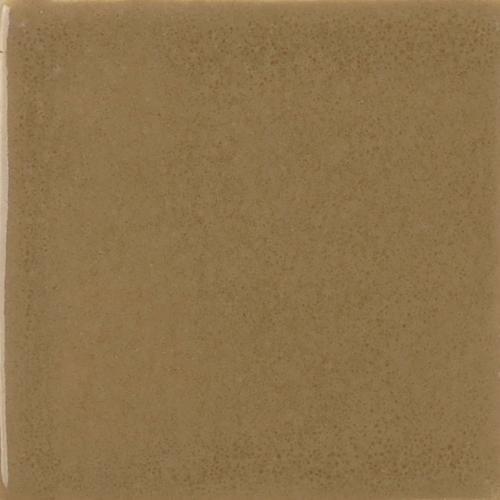 Chestnut Glaze on Handmade Tile