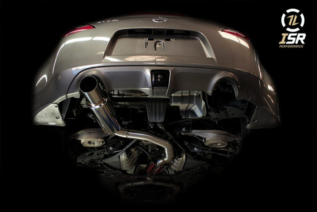 ISR Performance 370z Full exhaust system including Y-pipe and GT Single Exhaust from Ace Up Motorsports