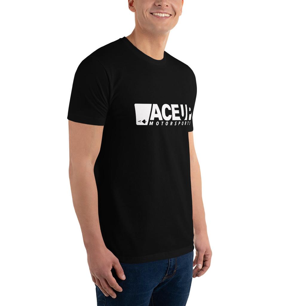 Ace Up Cotton T-shirt