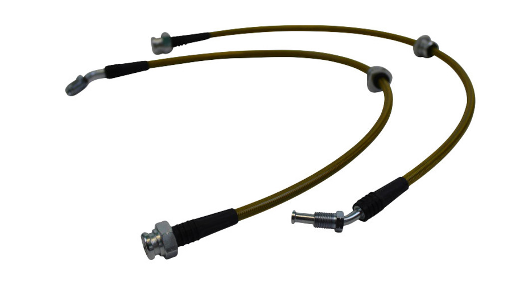 ISR Performance Stainless Steel Front Brake Lines - Nissan 240sx  - 300zx Z32 Conversion