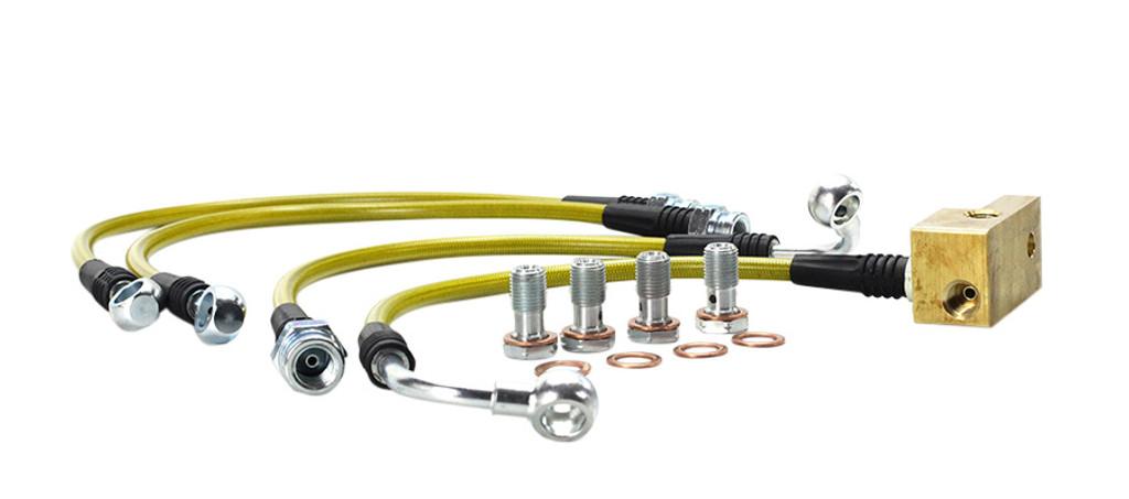 ISR Performance Brake Line Kit - Mazda Miata 89-05 (Standard Suspension 4 line kit)