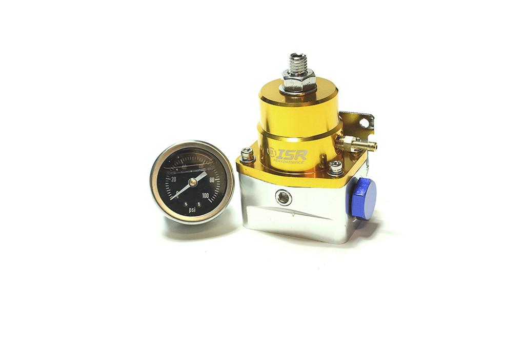 ISR Performance Fuel Pressure Regulator - Aeromotive Style - Gold