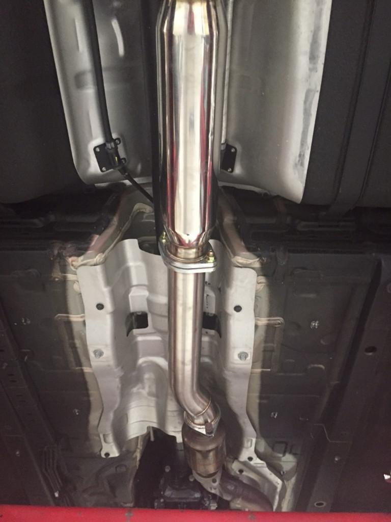 ISR Performance GT Single Exhaust - Hyundai Genesis Coupe 2.0T 09+