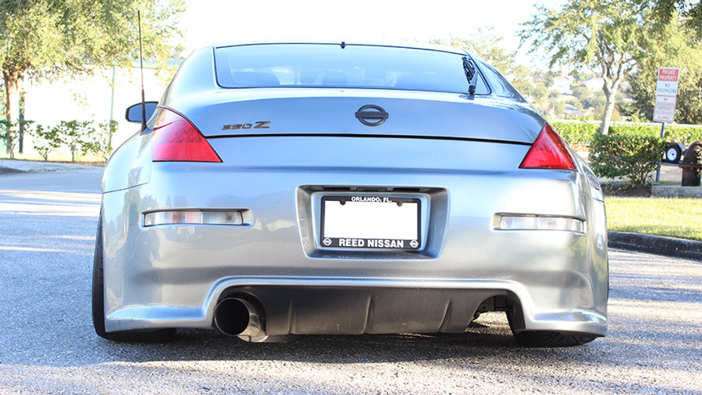 ISR Performance Single GT Exhaust - Nissan 350Z