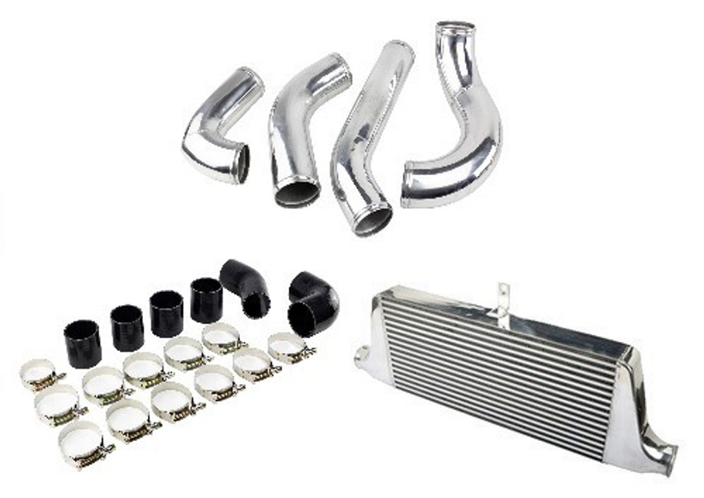 ISR Performance Front Mount Intercooler Kit - Nissan 240sx 2JZ Swap