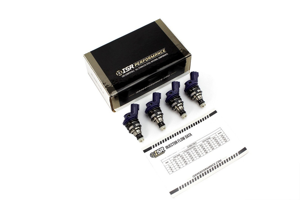 ISR Performance - Side Feed Injectors - Nissan 550cc (set of 4)