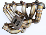 Future Fabrication 1JZGTE VVTI Twin scroll T4 Exhaust Manifold that works with 1JZ 240sx Swaps