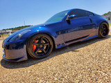 Modified 2003 Nissan 350Z Finished in GTR Ray Blue For Sale in Mississippi