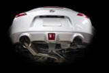 ISR Full titanium Nissan 370z Single Exit Exhaust installed