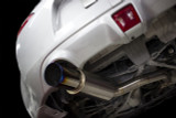 ISR Full titanium Nissan 370z Single Exit Exhaust installed at 9lbs of weight.