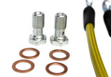 ISR Performance Stainless Steel Rear Brake Lines - Nissan 240sx S13/S14