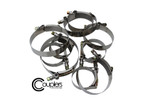"""ISR Performance Couplers and Clamps - T-Bolt Hose Clamp - 3.50""""+8mm"""