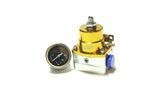 ISR Performance Fuel Pressure Regulator - Aeromotive Style - Gold