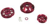 ISR Performance Light Weight Pulley Kit - Red - SR20DET S13