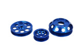 SR Performance Light Weight Pulley Kit - Blue - SR20DET S13