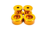 ISR Performance Solid Differential Mount Bushings - S14/S15 - Gold
