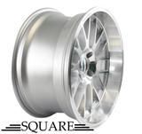 SQUARE WHEELS G6 MODEL - 18X9.5 +12 5X114.3