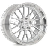 SQUARE Wheels G6 Model - 17x9 +15 5x114.3 (set of 4)