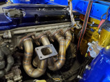 Future Fab Nissan KA24DE Turbo Manifold T2 Top Mount presented By Ace Up Motorsports